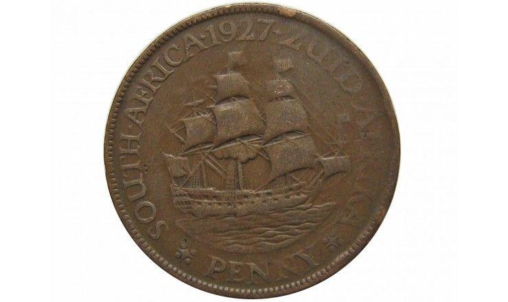 Южная Африка 1 пенни 1927 г.