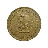 Южная Африка 1 цент 1961 г.