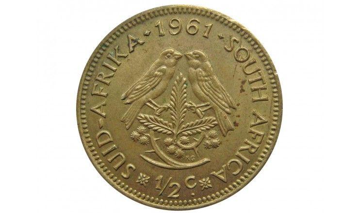 Южная Африка 1/2 цента 1961 г.