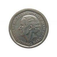 Ямайка 5 долларов 2014 г.