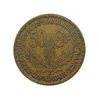 Камерун 50 сантимов 1925 г.