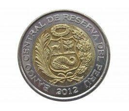 Перу 5 новых солей 2012 г.