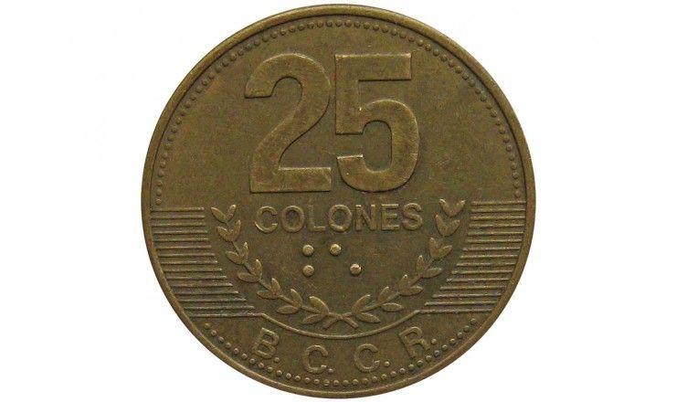 Коста-Рика 25 колон 2007 г.