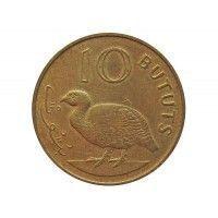 Гамбия 10 бутут 1971 г.