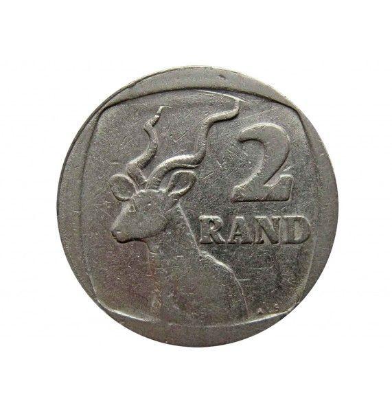 Южная Африка 2 ранда 1989 г.