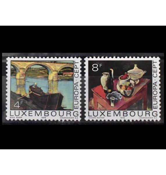 """Люксембург 1975 г. """"Европа: Картины"""""""