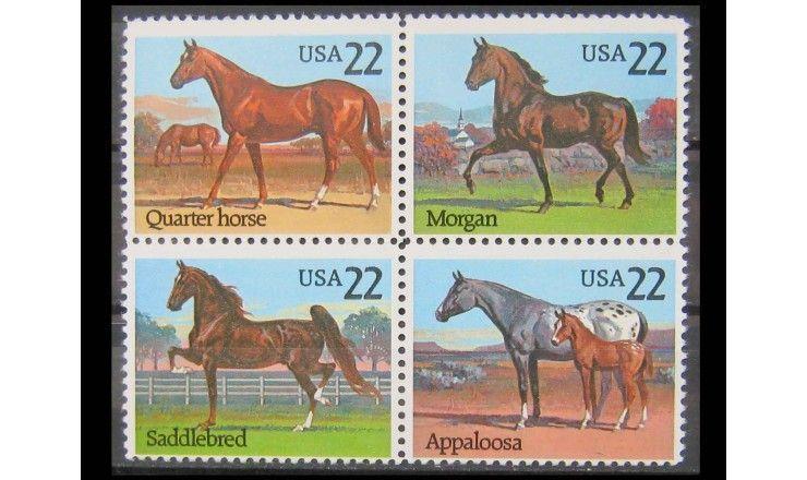 """США 1985 г. """"Лошади"""""""