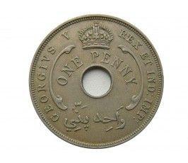 Британская Западная Африка 1 пенни 1936 г.