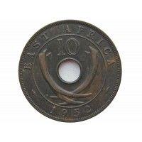 Британская Восточная Африка 10 центов 1952 г.