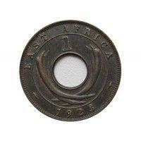 Британская Восточная Африка 1 цент 1923 г.