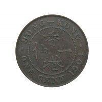 Гонконг 1 цент 1904 г.