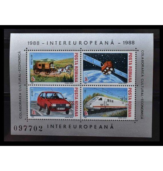 """Румыния 1988 г. """"INTEREUROPEANA"""""""