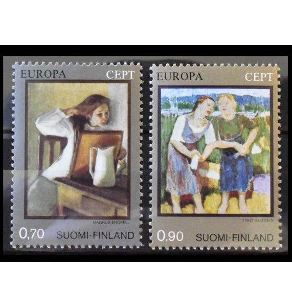 "Финляндия 1975 г. ""Европа: Картины"""