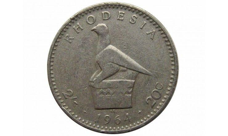 Родезия 2 шиллинга 1964 г.