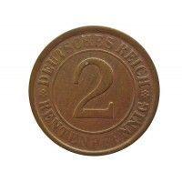 Германия 2 пфеннига (renten) 1924 г. A