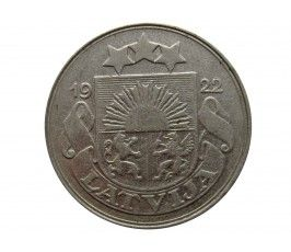 Латвия 50 сантимов 1922 г.