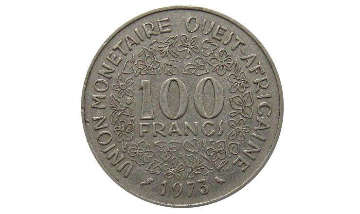Западно-Африканские штаты 100 франков 1973 г.