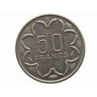 Центрально-Африканские штаты 50 франков 1977 г. B