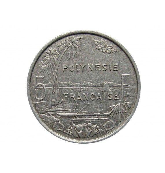 Французская Полинезия 5 франков 1984 г.