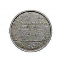 Французская Океания 1 франк 1949 г.