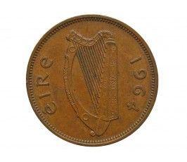 Ирландия 1/2 пенни 1964 г.