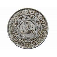 Марокко 5 франков 1951 (1370) г.