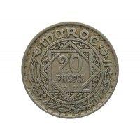 Марокко 20 франков 1947 (1366) г.