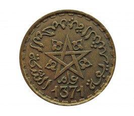Марокко 20 франков 1952 (1371) г.