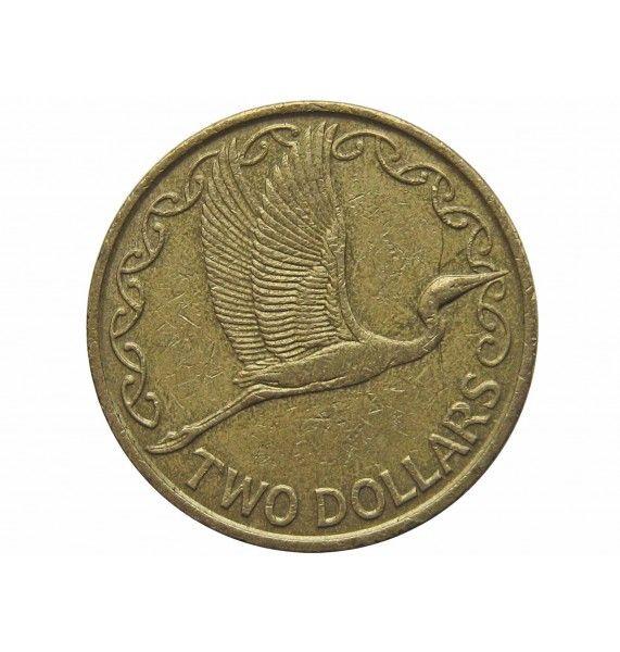 Новая Зеландия 2 доллара 1990 г.
