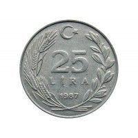Турция 25 лир 1987 г.