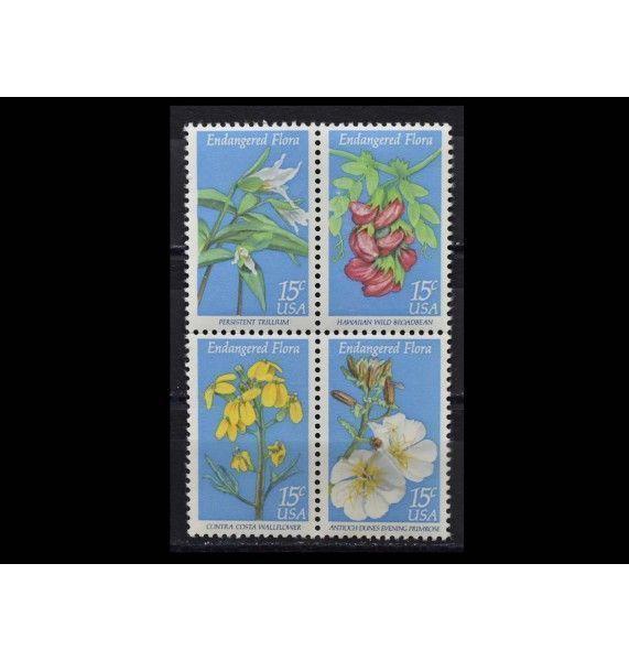 """США 1979 г. """"Охрана природы: Цветы"""""""