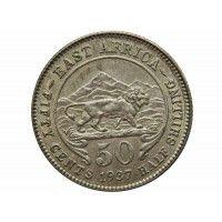 Британская Восточная Африка 50 центов 1937 г.
