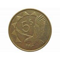 Намибия 5 долларов 1993 г.