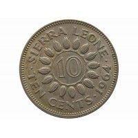 Сьерра-Леоне 10 центов 1964 г.