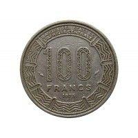 Габон 100 франков 1975 г.