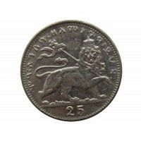 Эфиопия 25 матон 1923 г.