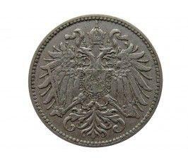 Австрия 10 геллеров 1895 г.