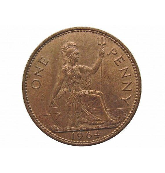 Великобритания 1 пенни 1964 г.