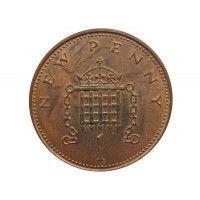 Великобритания 1 новый пенни 1971 г.