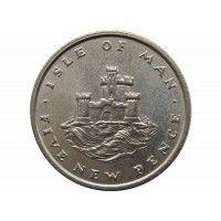 Остров Мэн 5 новых пенсов 1975 г.
