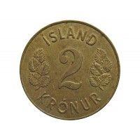 Исландия 2 кроны 1966 г.