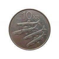 Исландия 10 крон 1984 г.