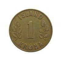 Исландия 1 крона 1946 г.