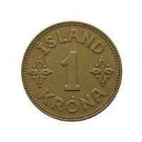 Исландия 1 крона 1940 г.
