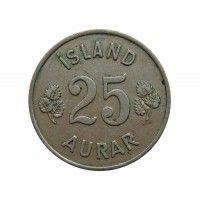 Исландия 25 аурар 1946 г.