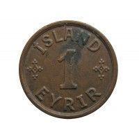 Исландия 1 аурар 1942 г.