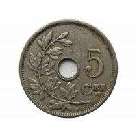Бельгия 5 сантимов 1928 г. (Belgique)
