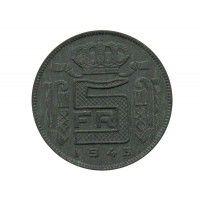 Бельгия 5 франков 1943 г. (Des Belges)