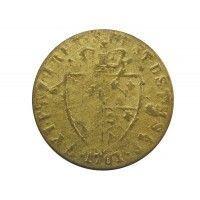 Великобритания игровой жетон гинея 1701 г.