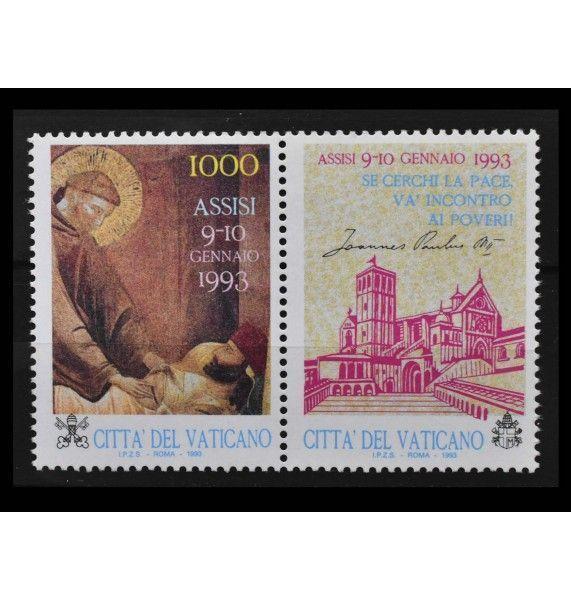 "Ватикан 1993 г. ""Молитвенная встреча ради мира в Европе, Ассизи"""